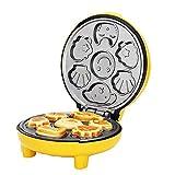ZUZEN Automatische Kuchen-Maschinen-Ausgangsbrot-Maschinen-doppelseitige Heizungs-Backen-Karikatur-Minikinderfrühstücks-Masch