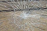 allvi 4Mil Sicherheitsfolie Fensterfolie - Splitterschutz & Einbruchschutzfolie (100)