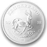 Silbermünze Krügerrand 2018 1 Unze Silbermünze Rand Refinery Südafrica (1 Stück 2018)