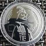 1 Unze oz Silber Niue 2017 Darth Vader Star Wars Neuseeland Silbermünze Münz
