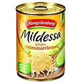 Hengstenberg Mildessa Weinsauerkraut 4 Portionen, 12er Pack (12 x 580 ml Dose)