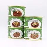 Diem Braten-Paket (Rinderbraten, Gulasch gemischt, Sauerbraten, Schweinebraten, Schweine Geschnetzeltes) 5 x 400g Konserve - BRATEN PAKET 2