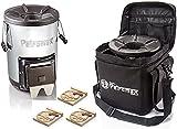 Petromax Raketenofen rf33 inkl.Tasche + 3x Feuer