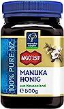 Manuka Health - Manuka Honig MGO 250+ (500 g) - 100% Pur aus Neuseeland mit zertifiziertem Methylglyoxal Geh