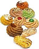 Sizilianische kekse großpackung mit Mandelpaste | 600 gr Geschenkverpackung | Kekse einzeln verpackt | Gebackene desserts, direkt von Artisan Laboratory | Italienische süßigkeiten | Mandelpas