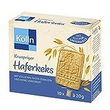 Kölln Knusprige Haferkekse - 10 Stück à 20 g, 8er Pack (8x 200 g)