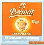 Brandt Markenzwieback laktosefrei, 10er Pack (10 x 225 g)
