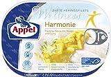 Appel Heringsfilets Wellness Harmonie, 10er Pack Konserven, Fisch in fruchtiger-Sauc