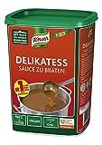 Knorr Delikatess Sauce zu Braten (pur als Bratensoße, Soßenbinder und zum Verfeinern), 1er Pack (1 x 1 kg)