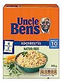 Uncle Ben's Natur Reis, 10 Minuten Kochbeutel, 1 Packung (1 x 500g)