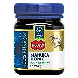 Manuka Health - Manuka Honig MGO 250+ (250 g) - 100% Pur aus Neuseeland mit zertifiziertem Methylglyoxal Geh