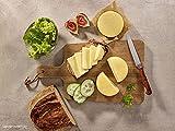ration1 Gouda 8 x 200g - Dosenkäse 10 Jahre haltbar! Vegetarisch, Laktosefrei & Glutenfrei! Einfach öffnen genießen!