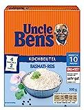 Uncle Ben's Basmati Reis, 10 Minuten Kochbeutel, 3er Pack (3 x 500g)