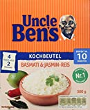 Uncle Ben's Basmati & Jasmin-Reis Kochbeutel (1 x 500g)