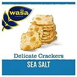 Wasa Knäckebrot Delicate Cracker Meersalz, 5er Pack (5 x 180g)