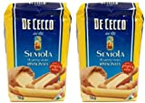 De Cecco - Hartweizengrieß - 1 kg Beutel - Semola di grano duro rimacinata 2 x 1 Kg
