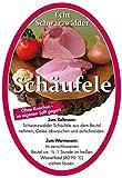 Schwarzwälder Schäufele im Kochbeutel min.1,5 kg (1,5-1,8 kg) - Ohne Knochen, im eigenen Saft gegart - muss nur noch im Kochbeutel erwärmt werden - ohne Kühlung haltbar - Ideal als Gesch