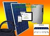 2000Watt Solaranlage Photovoltaikanlage Eigenverbrauch Plug & Play für Steckdose mit Aufständerung