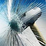 Happyroom Fenster Splitterschutz Folie Sicherheitsfolie Splitterschutzfolie Einbruchschutzfolie Fensterfolie Folie(76cm*3m)