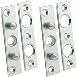 2x BASI® Bändersicherung BSA90 Bandsicherung Türsicherung Aushebesicherung Scharnierseitensicherung