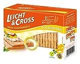 LEICHT&CROSS Knusperbrot Goldweizen, 8er Pack (8 x 125 g)