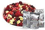 TALI Bunter Beeren Mix 175 g - Gefriergetrocknete Ananas, Erdbeeren, Himbeeren, Schwarze Johannisbeer