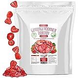 Erdbeeren gefriergetrocknet • 300g gefriergetrocknete Früchte in Scheiben • 100% natürlich und frei von Zusatzstoffen • besonders fruchtig • in Deutschland herges