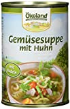 ÖKOLAND Gemüsesuppe mit Geflügel, 6er Pack (6 x 400 g)