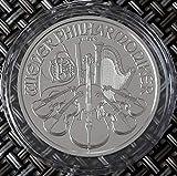 1 Unze Silbermünze Wiener Philharmoniker 2021 oz Silber einzeln in Münzkapsel verpac