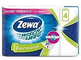 Zewa Wisch&Weg Küchenrolle Reinweiss, 1er Pack (4 x 45 ) B