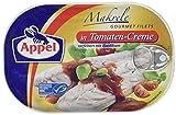Appel Makrelenfilets in Tomaten-Creme, 10er Pack Konserven, Fisch in Tomatencrem