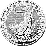 Silbermünze New!!! Britannia 2021, 1 Unze, Anlagemünze, Neu, in Münzkapseln, Differenzbesteuert nach § 25a UstG