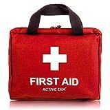 Erste Hilfe Set - 90-teiliges Premium Erste-Hilfe-Set - enthält Sofort Kühlpacks, Augenspülung, Rettungsdecke für zu Hause, Büro oder Auto - Ro