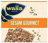 Wasa Knäckebrot Sesam Gourmet, 10er Pack (10 x 220g)