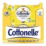 Cottonelle feuchte Toilettentücher Natürlich Pflegend (mit Kamille und Aloe Vera) 12 x 44 Tücher