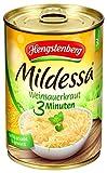 Hengstenberg Mildessa 3 Minuten Weinsauerkraut 3 Portionen, 6er Pack (6 x 425 ml Dose)