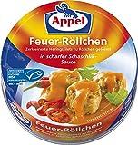 Appel Feuerröllchen, 12er Pack Konserven, Fisch in Schaschliksauc