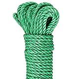 GardenMate Outdoor Seil 30 m lang 6mm dick aus 3 Polypropylene Sträng