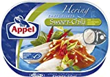 Appel Heringsfilets Sweet-Chili, 10er Pack Konserven, Fisch in Sweet-Chilisauc