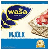 Wasa Knäckebrot Mjölk, 12er Pack (12 x 230g)