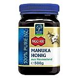 Manuka Health - Manuka Honig MGO 400+ 500g - 100% Pur aus Neuseeland mit zertifiziertem Methylglyoxal Geh