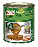 Knorr Meisterkessel Gulaschsuppe (servierfertig, authentischer Geschmack) 1er Pack (1 x 2,9kg)