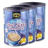 Krüger Chai Latte Classic India Vanille-Zimt, Milchtee, Teepulver, Instant Tee, 3 x Dose, 8971