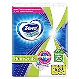 Zewa Wisch und Weg Reinweiss Küchenrolle, Großpackung, 16 unbedruckte Rollen mit jeweils 45 Blatt, 1300 kg