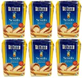 De Cecco - Hartweizengrieß - Semola di grano duro rimacinata (6 x 1 kg)