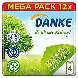 Danke Küchenrolle, Mega Pack, 12 Packungen (48 Rollen x 45 Blatt)