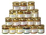 18x 50g Honig Probierset | Geschenkset – naturbelassen, Honig zum Kennenlernen, Kombination variiert (von Imkerei Nordheide)